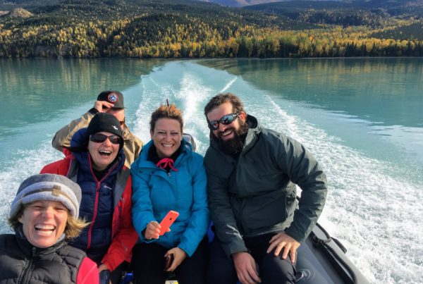 scenic boating and hiking tour
