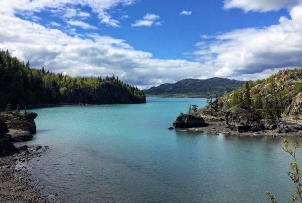 Alaska Hiking Kenai National Wildlife Refuge Skilak Lake