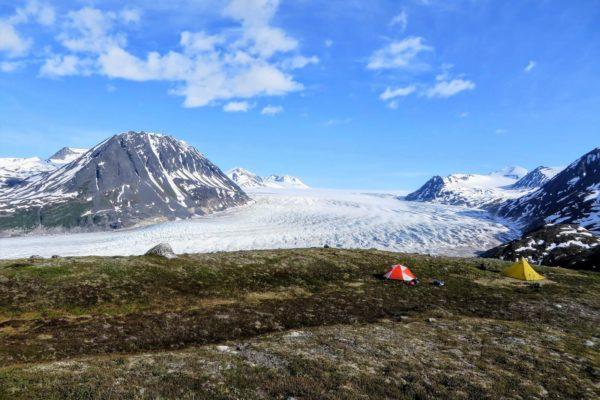 Kenai Mountains and Glaciers Alaska Backpacking-109