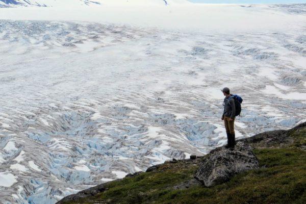 Kenai Mountains and Glaciers Alaska Backpacking-115
