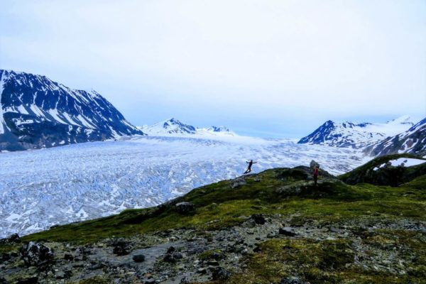 Kenai Mountains and Glaciers Alaska Backpacking-116