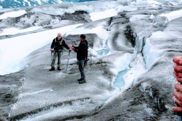 Kenai Mountains and Glaciers Alaska Backpacking-118
