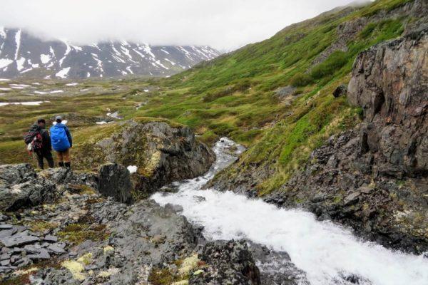 Kenai Mountains and Glaciers Alaska Backpacking-125