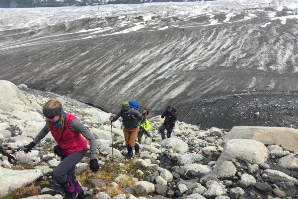 Kenai Mountains and Glaciers Alaska Backpacking-128