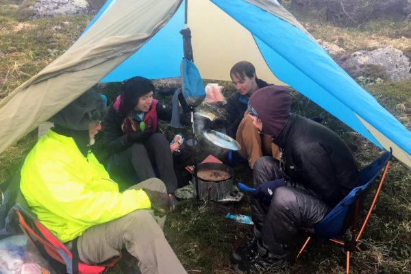 Kenai Mountains and Glaciers Alaska Backpacking-129