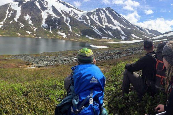 Kenai Mountains and Glaciers Alaska Backpacking-132