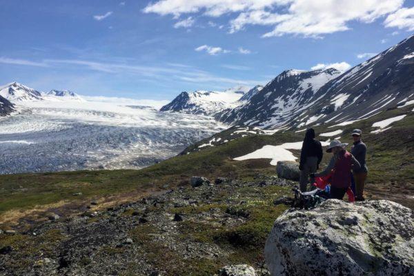 Kenai Mountains and Glaciers Alaska Backpacking-133