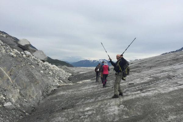 Kenai Mountains and Glaciers Alaska Backpacking-135