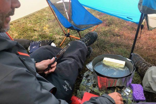 Kenai Mountains and Glaciers Alaska Backpacking-136