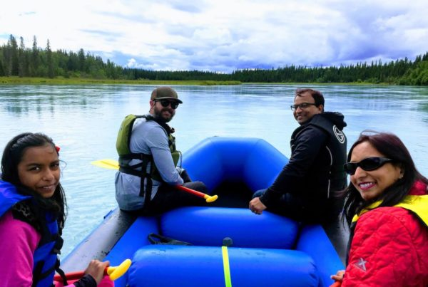 Kasilof Wilderness River Rafting 2