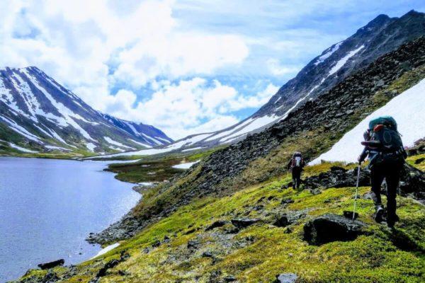Kenai Mountains and Glaciers Alaska Backpacking-100 copy
