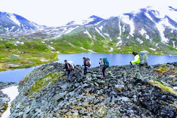 Kenai Mountains and Glaciers Alaska Backpacking-119