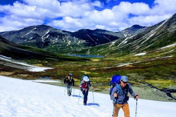 Kenai Mountains and Glaciers Alaska - Snowfield Traverse copy