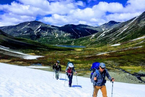 Kenai Mountains and Glaciers Alaska - Snowfield Traverse copy