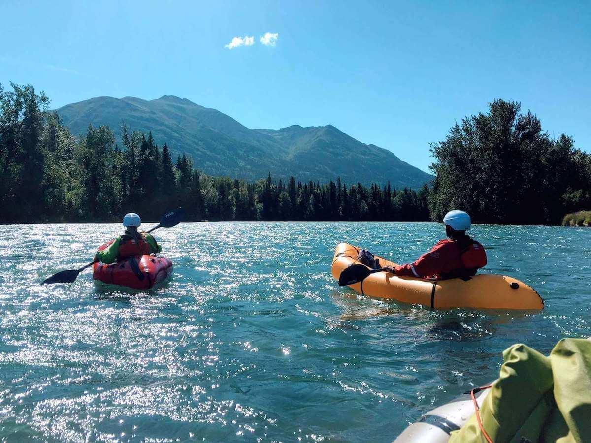 Learn Packrafting in Alaska Kenai River Packrafting